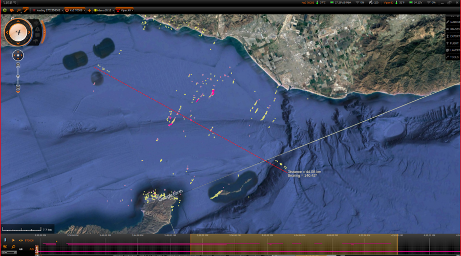 Maritime-Wide Area Search in Lisa3D